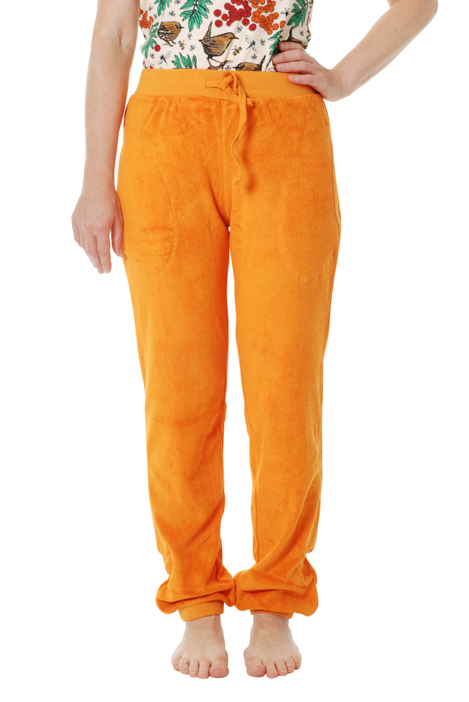 Adult's Dark Cheddar Terry Trousers