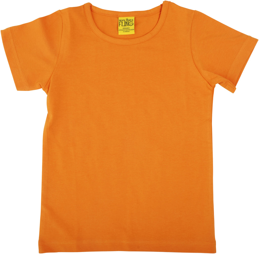 Adult's Dark Cheddar Short Sleeve Shirt