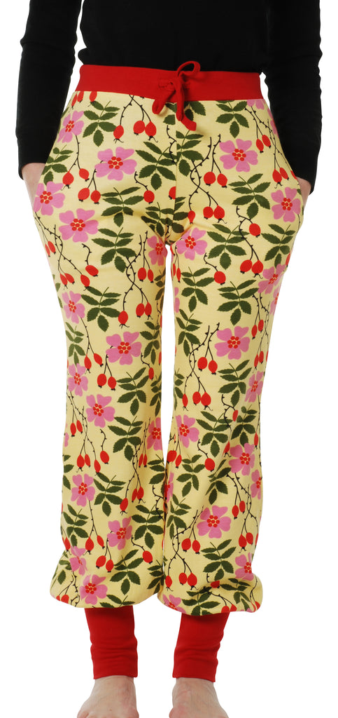 Adult's Rosehip Yellow Baggy Pants