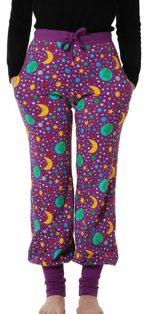 Adult's Mother Earth Violet Baggy Pants