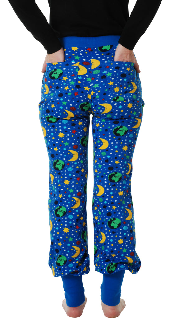 Adult's Mother Earth Blue Baggy Pants