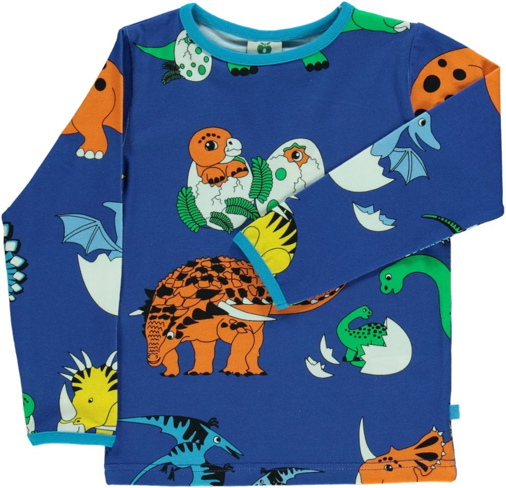 Dinosaurs Long Sleeve Shirt - 2 Left Size 1-2 & 8-10 years