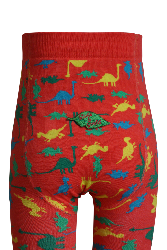 Dino Tights by Slugs and Snails Organic Cotton Toddler Kids Clothes from Modern Rascals