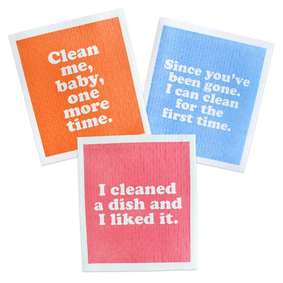 Dish Divas Swedish Dishcloths Set of 3