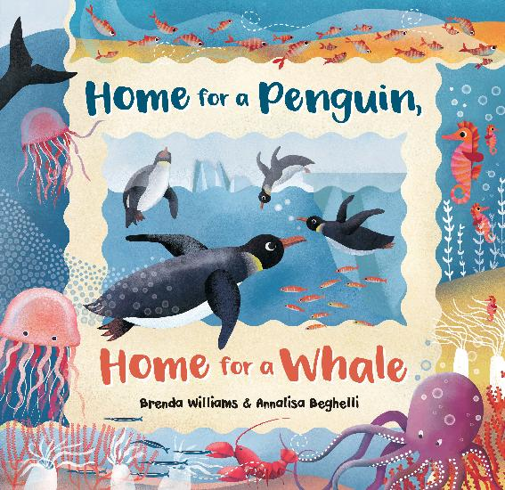 Home for a Penguin, Home for a Whale, Paperback