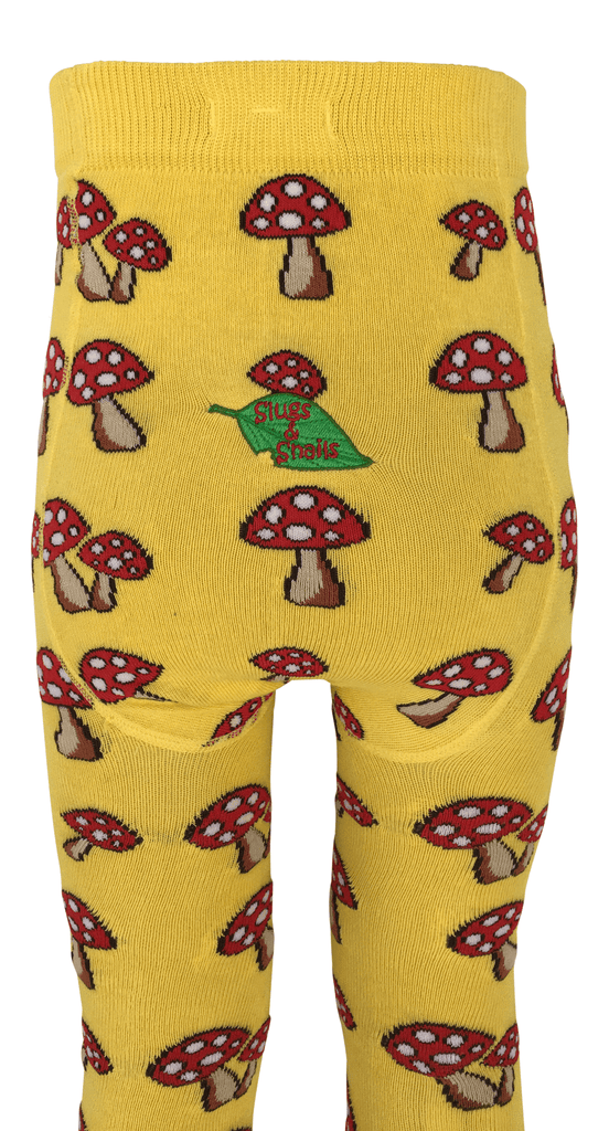 Fun Guy Leggings by Slugs and Snails Organic Cotton Toddler Kids Clothes from Modern Rascals