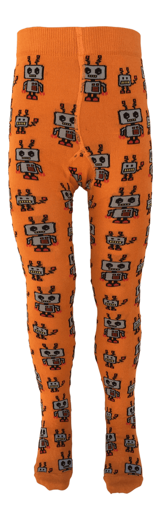 Bots Tights by Slugs and Snails Organic Cotton Toddler Kids Clothes from Modern Rascals
