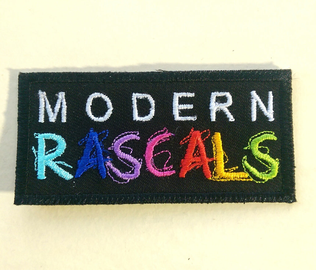 Modern Rascals Iron On Patch by Modern Rascals Organic Cotton Toddler Kids Clothes from Modern Rascals