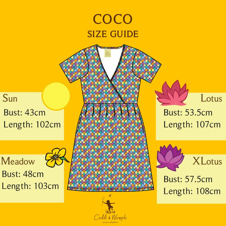 Adult's Rainbow Scales Coco Dress