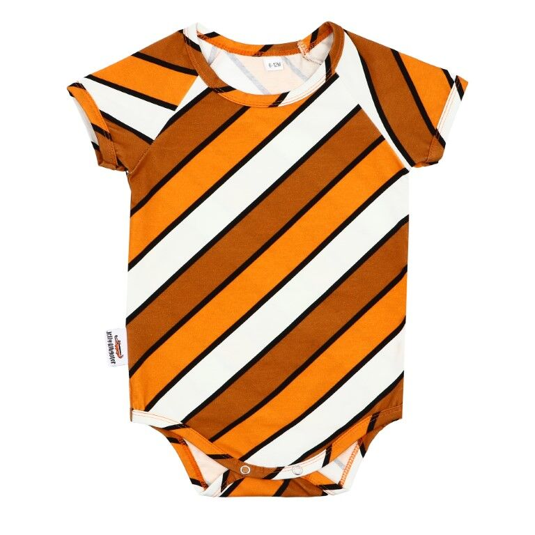 Stripe Fever Short Sleeve Onesie
