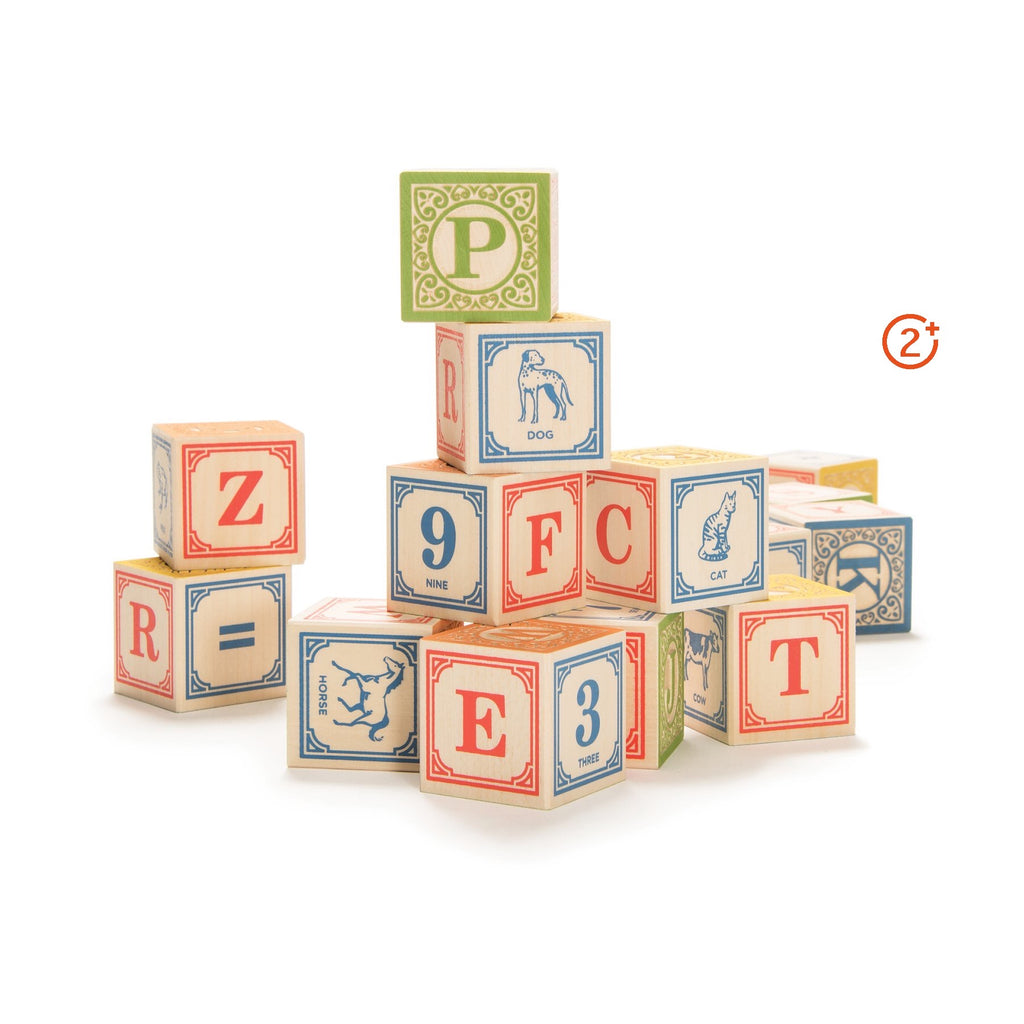 English Alphabet Blocks
