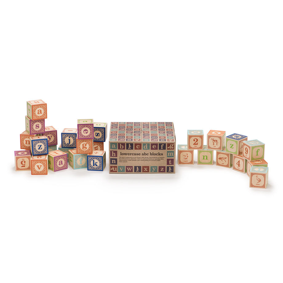 English Lowercase Alphabet Blocks