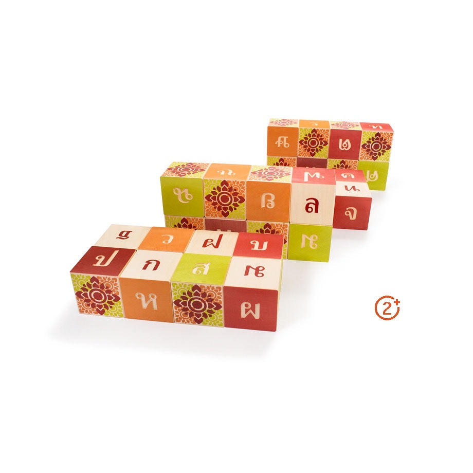 Thai Alphabet Blocks