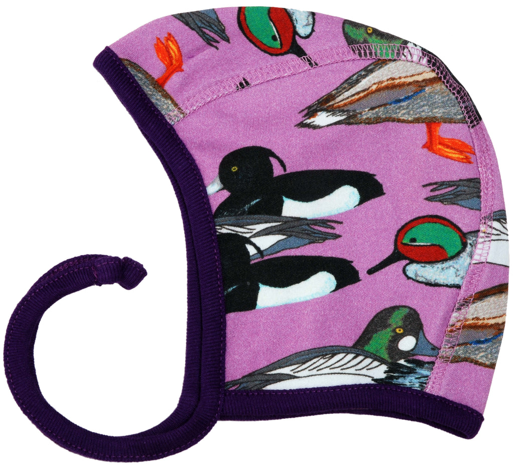 Violet Ducks Baby Hat