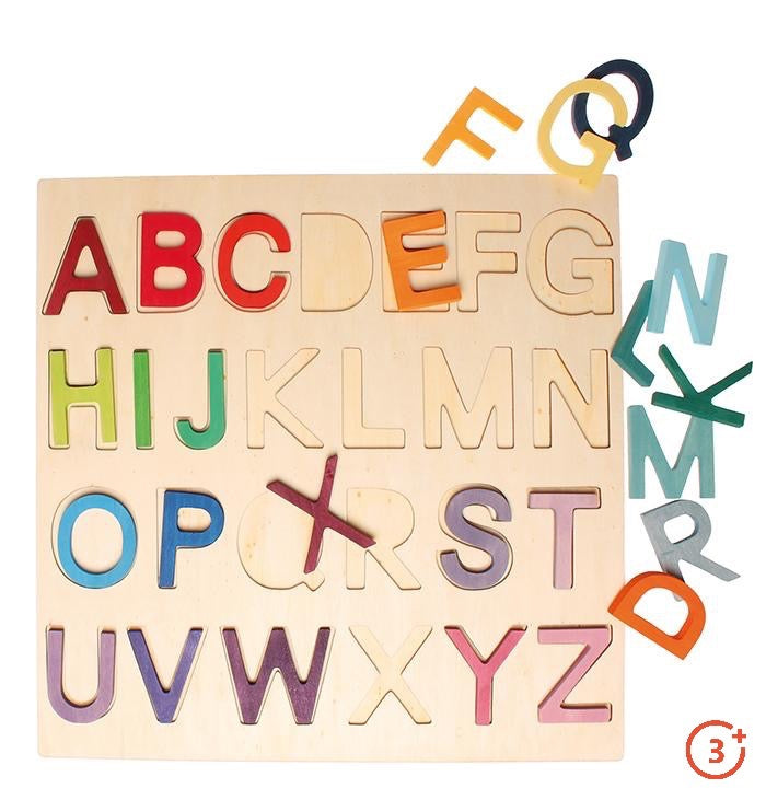 Wooden ABC Game in Frame