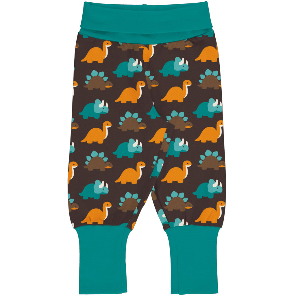 Dinosaurs Ribbed Pants