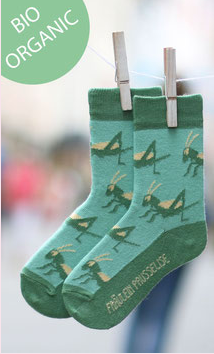 Grasshopper Socks