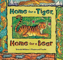 Home for a Tiger, Home for a Bear, Paperback