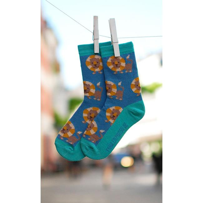 Lion Socks - 2 Left Size 2-3 years