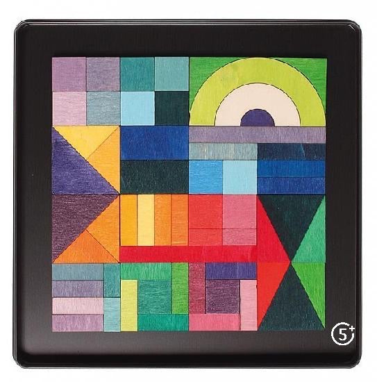Magnetic Puzzle - Geometrical