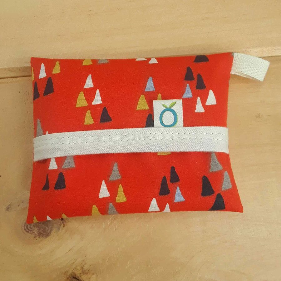 Reusable Pocket for Hankies - Triangle