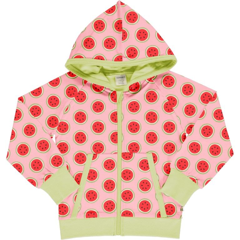 Watermelon Cardigan Hood