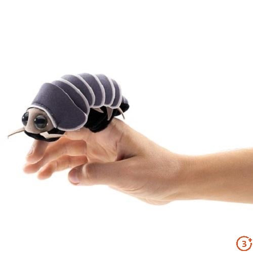 Mini Roly Poly Bug Finger Puppet