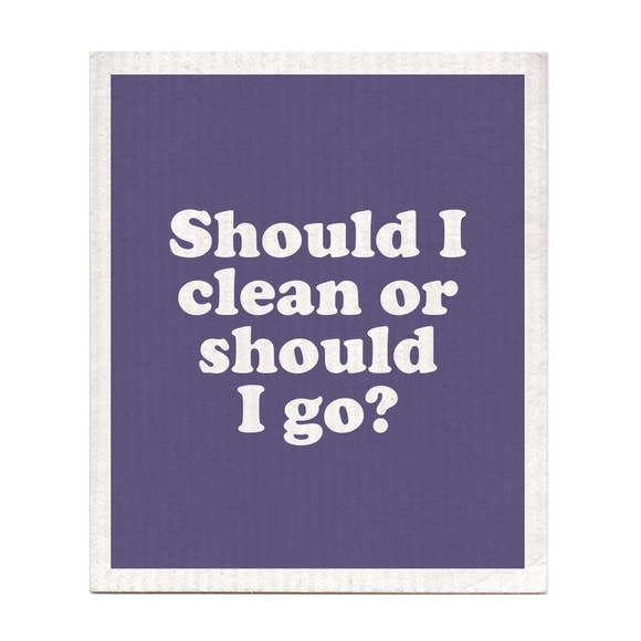 Should I Clean or Should I Go? Swedish Dishcloths