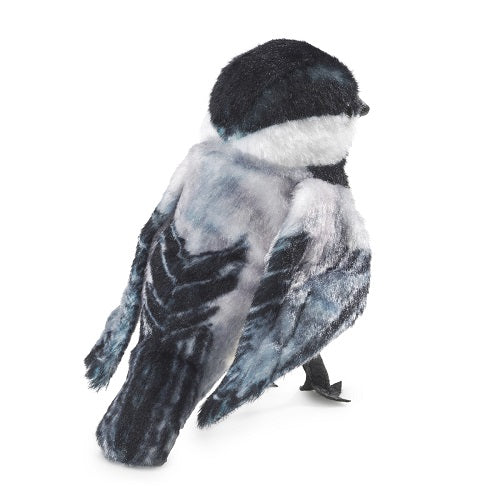 Mini Chickadee Finger Puppet