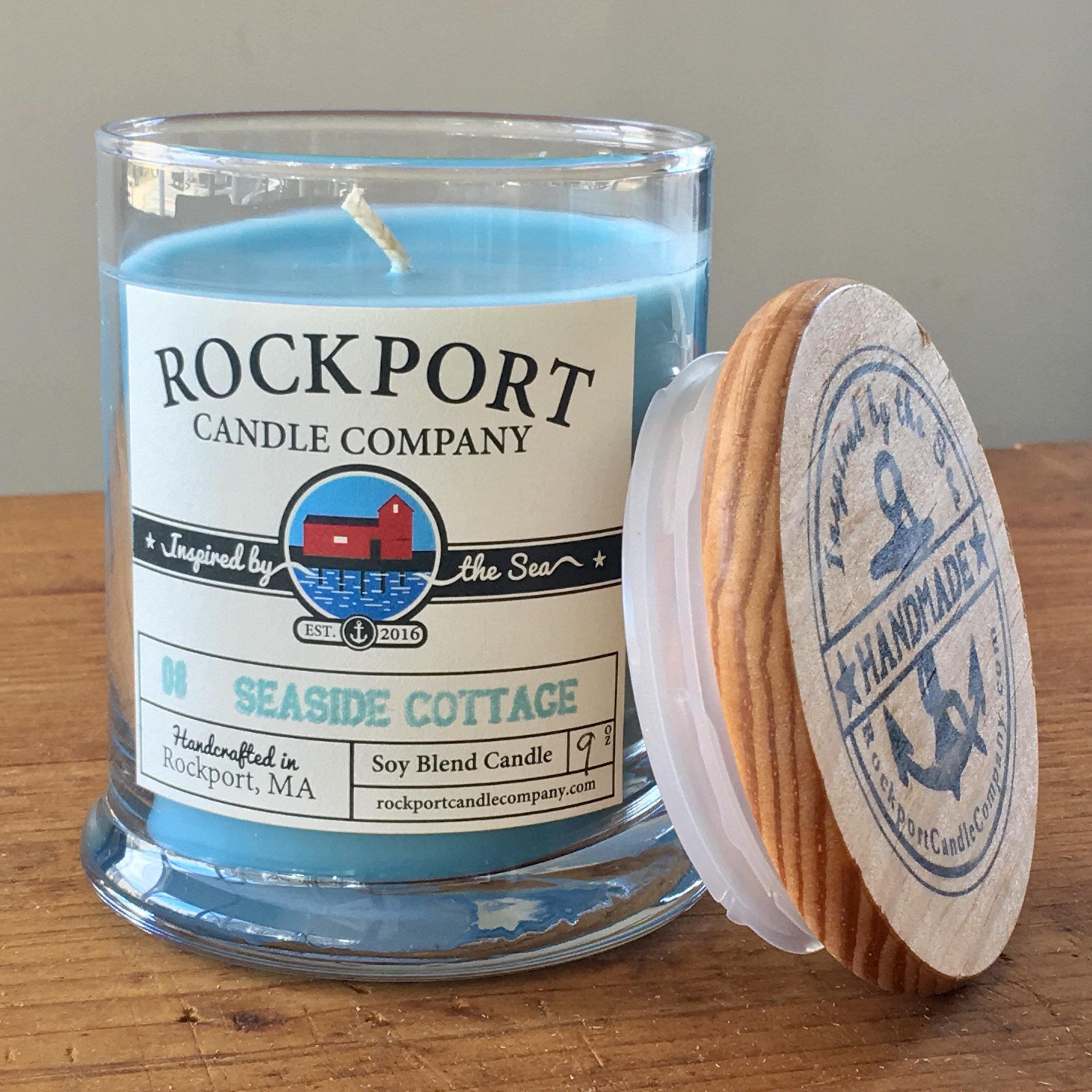 08 Seaside Cottage Candle Rockport Candle Company
