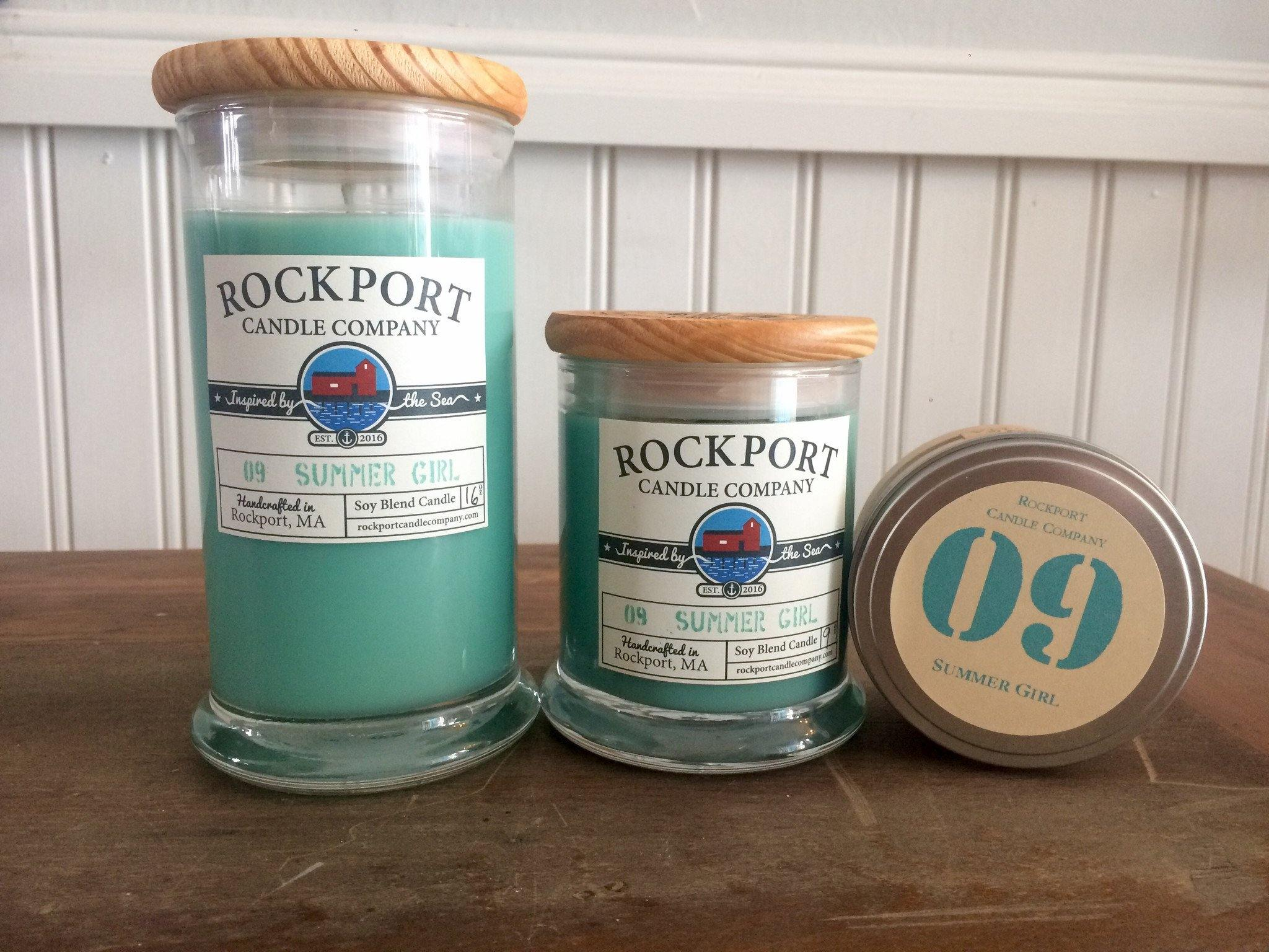 Summer Girl Beach Rockport Candle Company 09