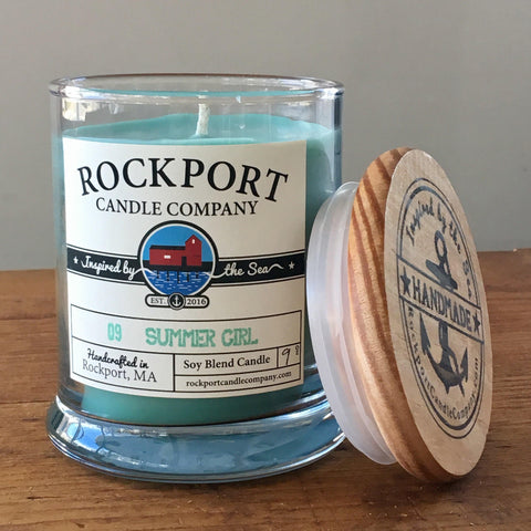 09 Summer Girl Candle Rockport Candle Company