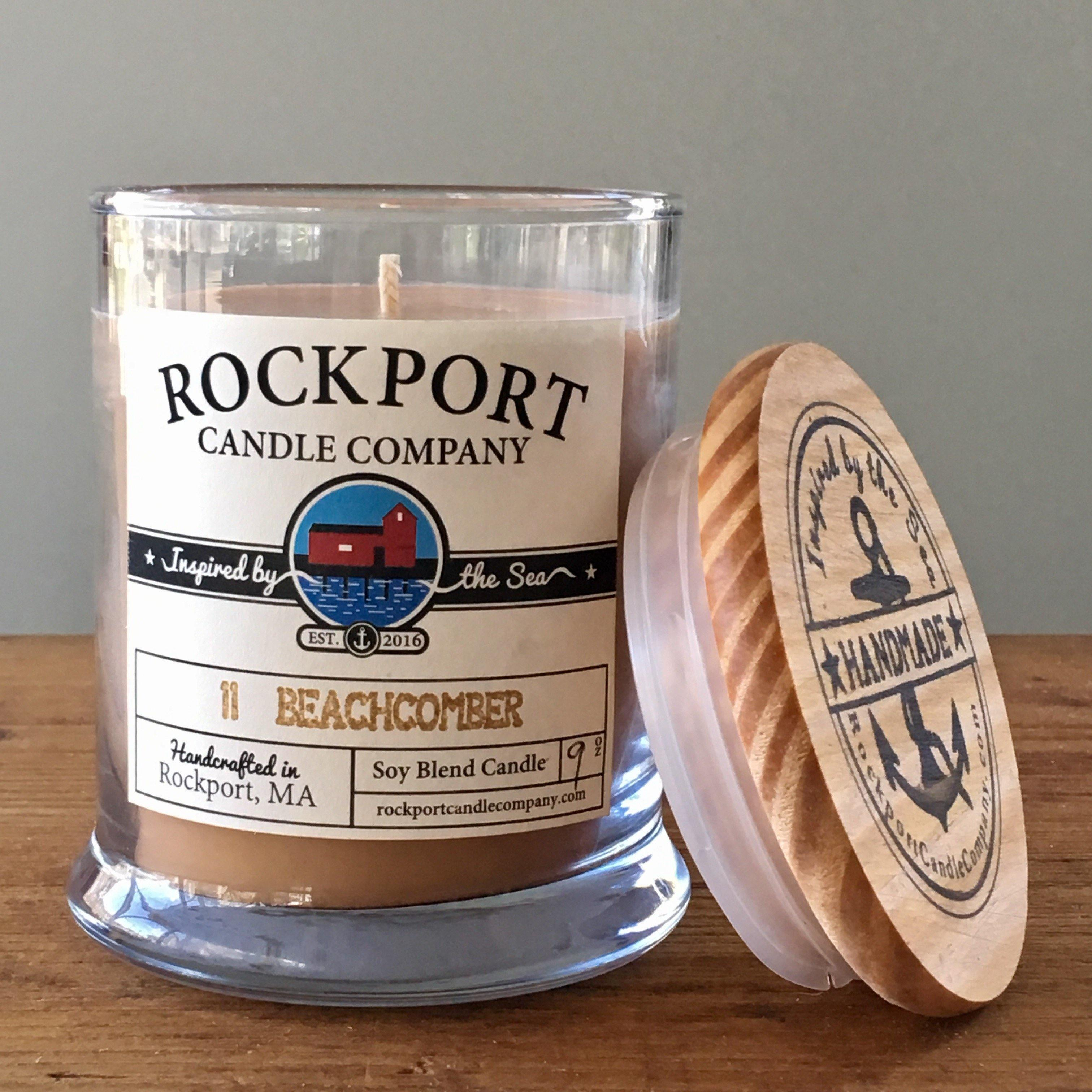 11 Beachcomber Candle Rockport Candle Company