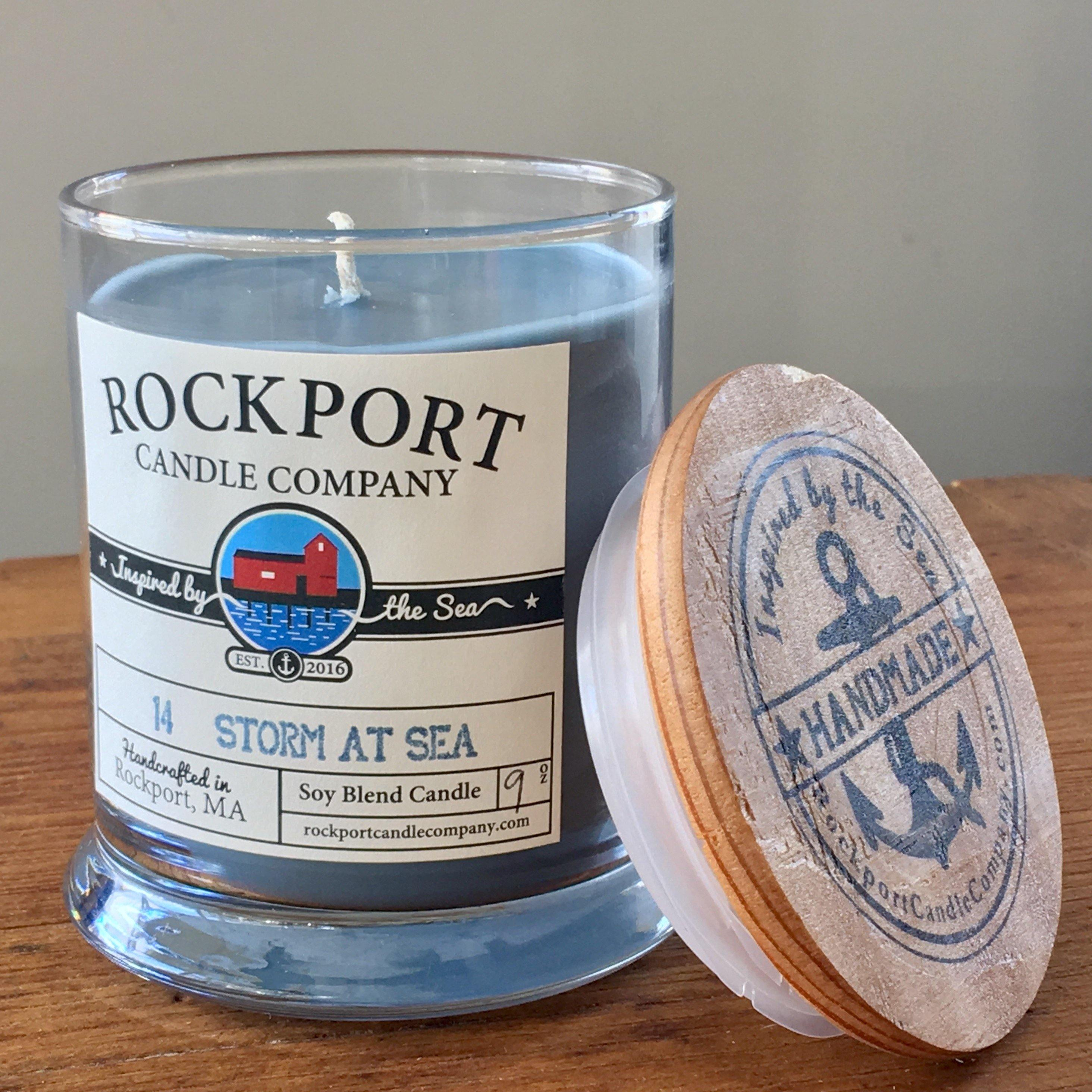 14 Storm at Sea Candle Rockport Candle Company