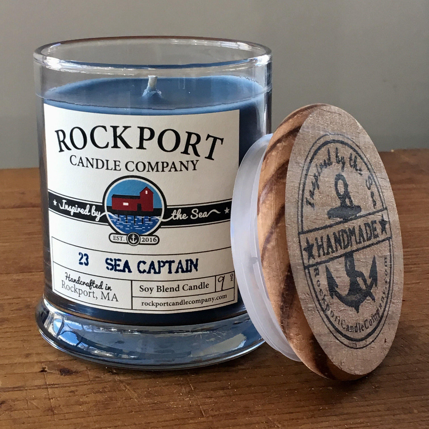 23 Sea Captain Candle Rockport Candle Company
