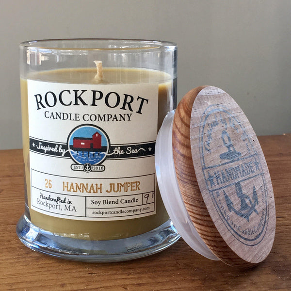 26 Hannah Jumper Candle Rockport Candle Company