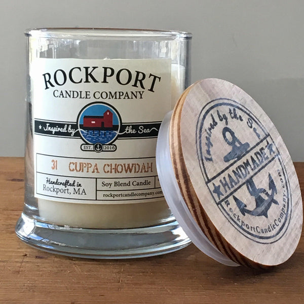 31 Cuppa Chowdah Candle Rockport Candle Company
