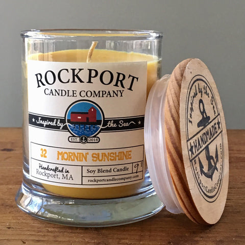 32 Mornin' Sunshine Candle Rockport Candle Company
