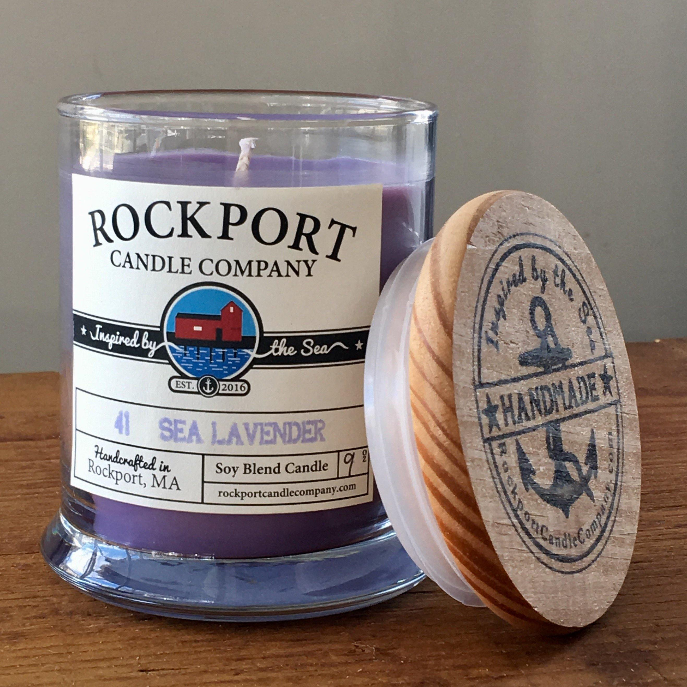 41 Sea Lavender Candle Rockport Candle Company