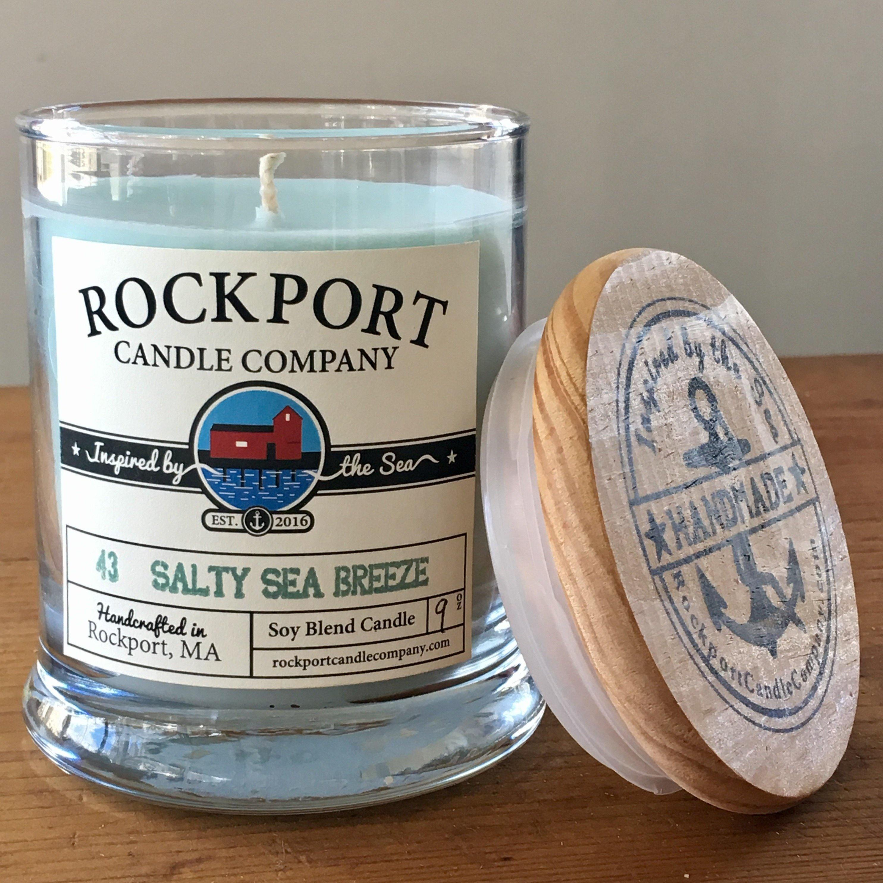 43 Salty Sea Breeze Candle Rockport Candle Company