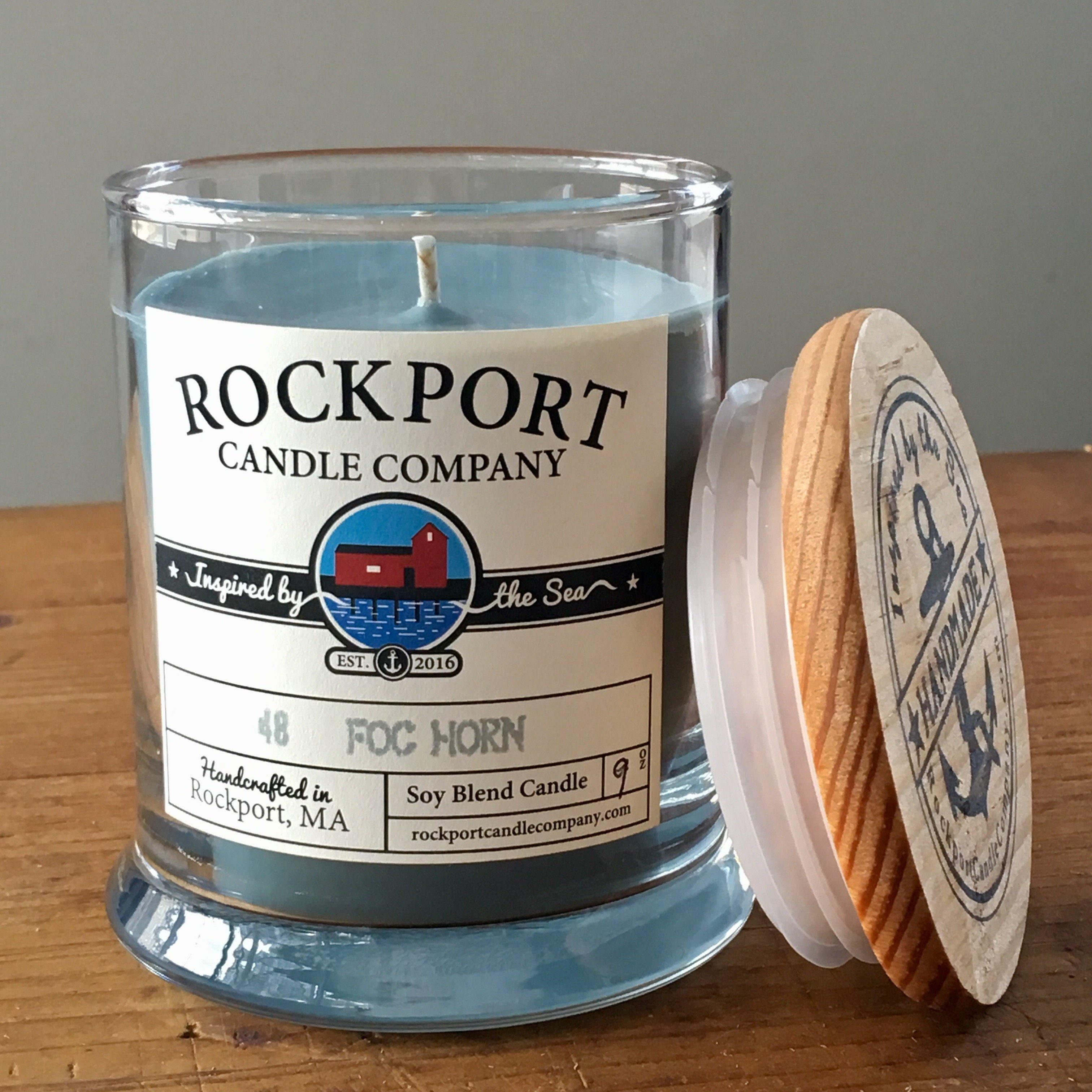 48 Fog Horn Candle Rockport Candle Company