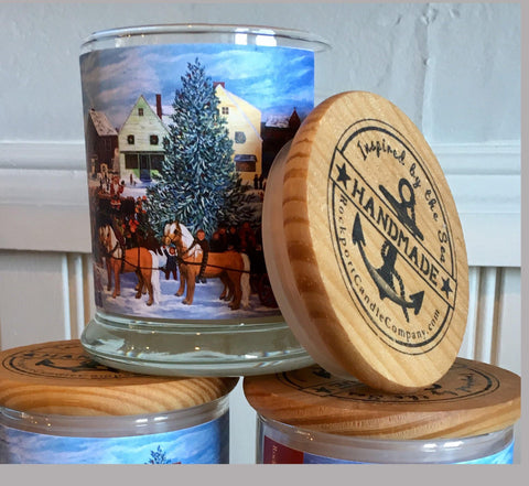 Christmas Morning fundraiser candle