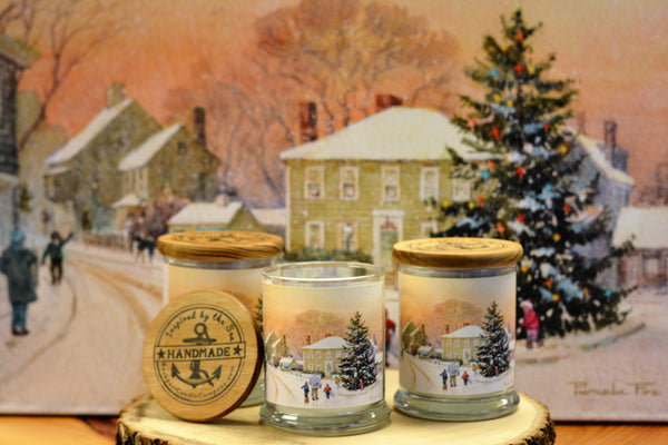 Rockport Candle Company charity candle fundraiser Christmas