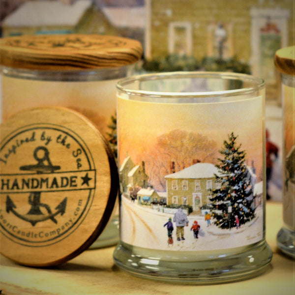 2019 Christmas Charity Candle Rockport Candle Company