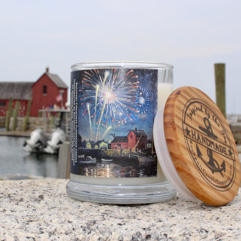 Rockport Fireworks 2018 candle