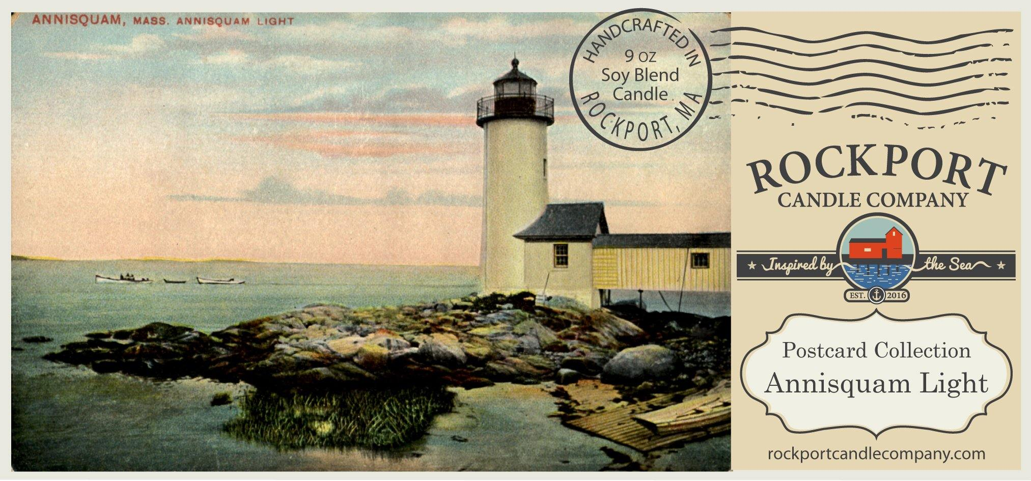 Vintage Postcard Annisquam Light
