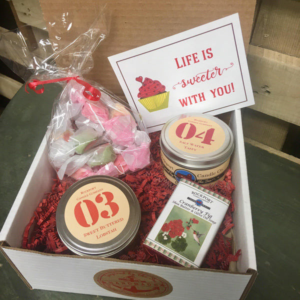 """Life is Sweeter with You"" Gift Set"