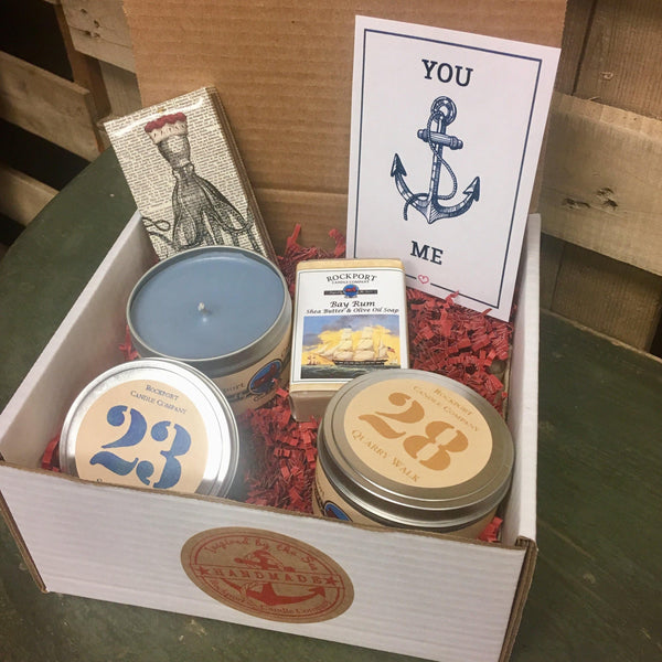 """You Anchor Me"" Gift Set"