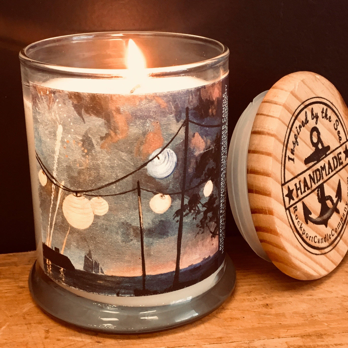 Rockport Fireworks Candle 2019 to Benefit Rockport Fireworks Fund SOLD OUT!