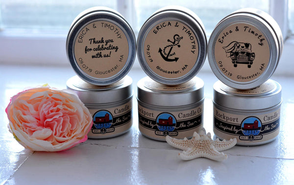 Classic Candle Favors wedding options